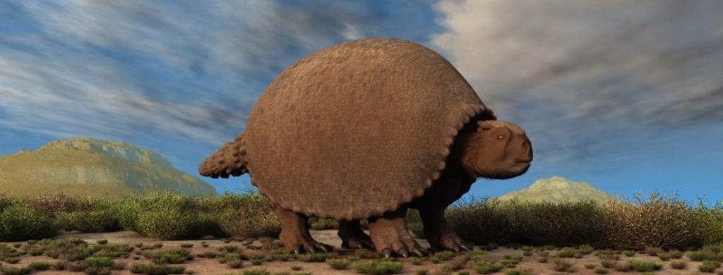 News & prioslav.ru: Исчезнувшие животные древнего мира - Глиптодонт - крупные броненосцы в Северной Америке