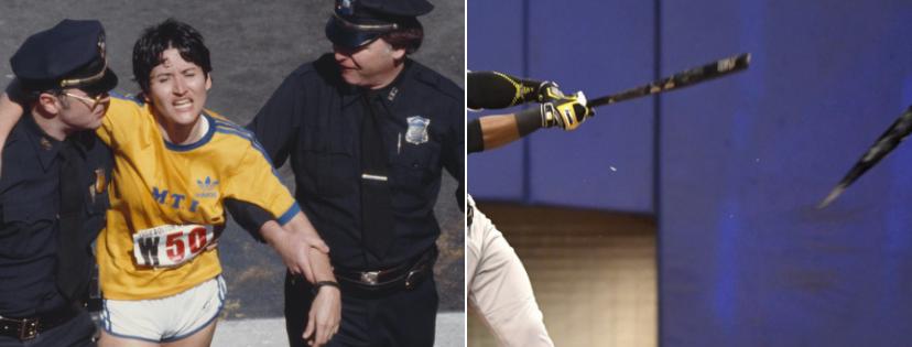 Cпортивные скандалы: Рози Руис (обман участников марафона) / MLB (употребление наркотиков почти всей командой)