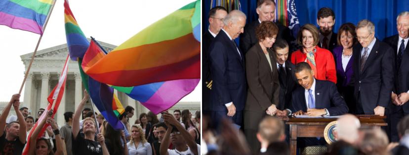 News & prioslav.ru: В США узаконены однополые браки в 2015 году / Термин в американской армии «Не спрашивай, и не говори» отменен в 2011 году