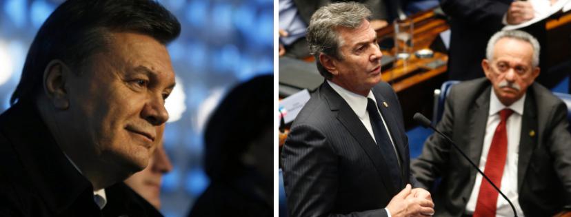 News & prioslav.ru: Общество и политика - Виктор Янукович / Фернандо де Коллор де Мелло