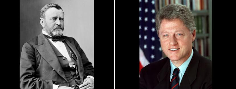 News & prioslav.ru: Самые молодые президенты в истории США - Улисс С. Грант / Билл Клинтон