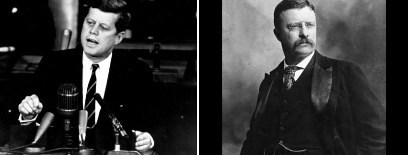 News & prioslav.ru: Самые молодые президенты в истории США - Джон Ф. Кеннеди / Теодор Рузвельт
