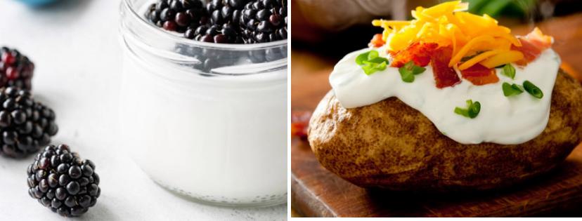 News & prioslav.ru: Полезные свойства популярных продуктов - Полножирный йогурт / Сметана