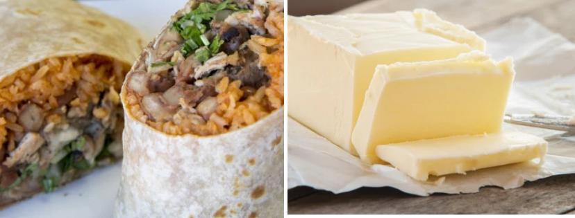 News & prioslav.ru: Полезные свойства популярных продуктов - Буррито / Масло сливочное
