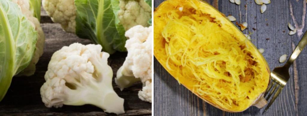 News & prioslav.ru: Продукты для похудения: Цветная капуста / Спагетти сквош