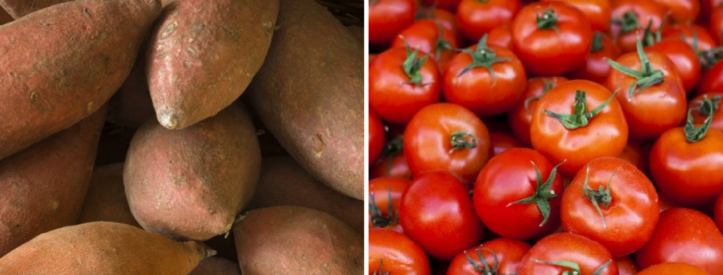 News @ prioslav.ru: Сладкий картофель \ Помидоры