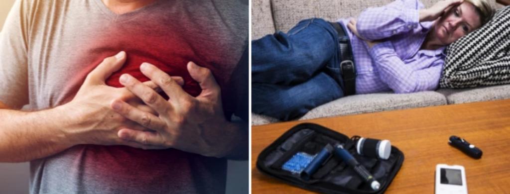 News @ prioslav.ru: Сердечный приступ / Ухудшает диабет