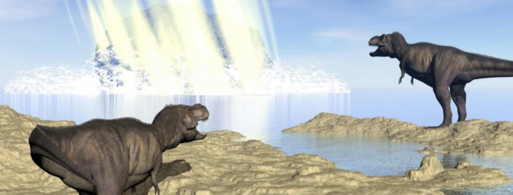 News @ prioslav.ru: Древнейшие катастрофы в истории Земли, вызванные астероидами и кометами
