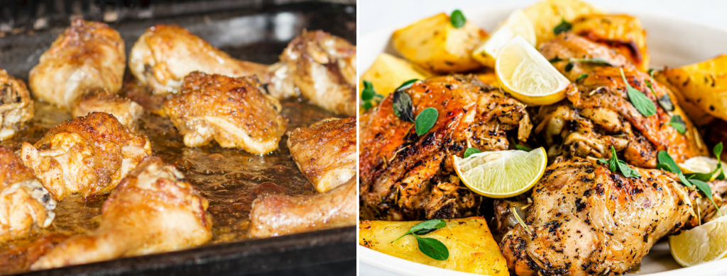 News @ prioslav.ru: Средиземноморские куриные бедра (ингредиенты и рецепт приготовления)